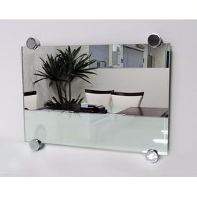 Espelho Lapidado Sob Medidas C/ Botões - Peça Orçamento