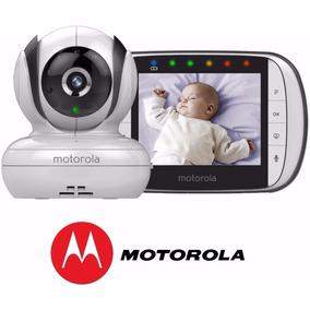 Babá Eletrônica Motorola Mbp-36s Visão Noturna Sem Fio 36