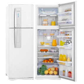 Geladeira Electrolux Frost Free 382l Blue Touch 110v - Df42
