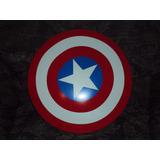 Escudo Grande De Capitan America 46 Cm. Avengers Marvel