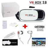 Lentes Realidad Virtual Vr Box 2.0 Con Control Envío Gratis
