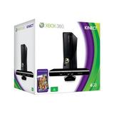 Xbox360 Xbox 360 Slim 4gb+kinect+3 Juegos Nuevos Garan Finan
