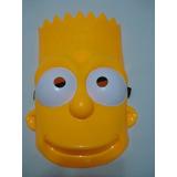 Mascara Bart Simpson Festa Fantasia Haloween