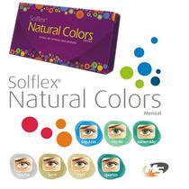 Lente De Contato Solflex Natural Colors / Com Ou Sem Grau