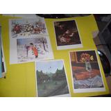 Tarjeta Postal Ediciones Pintores Sin Manos Sin Usar Lote X5