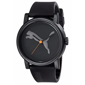 Reloj Unisex Puma Original Quartz Negro Display Grande