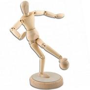 3x Boneco Manequim Articulado Magnético 30cm *frete+barato*