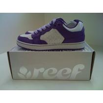 Tênis Reef Girls Tyrant 8040-purple/white-novo/com Garantia