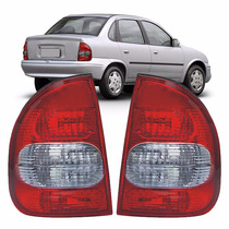 Lanterna Corsa Classic 2003 A 2009 2010 Modelo Original Fumê