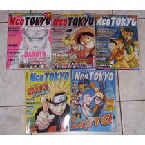 Lote De 05 Revistas Neo Tokyo - Ed. Escala