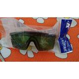 Óculos De Segurança Proteção Individual Epi Verdes Escuros