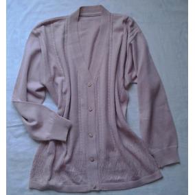 Sweater Saquito Cardigan Saco Abotonado Escote En V