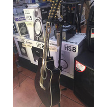 Guitarra 12 Cuerdas Electroacustica Negra Mccartney Funda