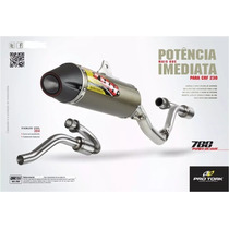 Escapamento Crf 230 C/ Curva Power Core 788 Pro Tork
