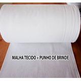 2 Quilos Malha Tecido Branca P/ Camisetas Malha Fria(pv)