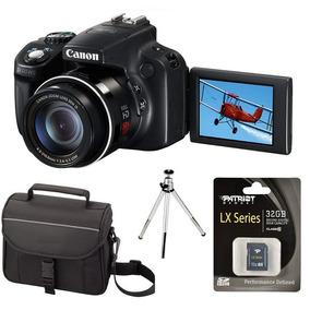 Camera Canon Sx50/sx60 + Bolsa +32gb+tripé