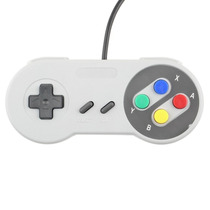 Controle Usb Snes Super Nintendo Para Pc Notebook Mac Linux