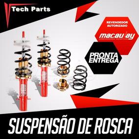 Kit Suspensão Regulável Rosca Macaulay Renault Logan Antigo
