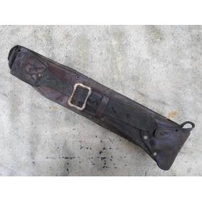 Cinturon Gaucho Antiguo De Cuero ( B1318)