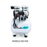 Compresor Odontologico 1.1 Hp Alta Recup S/aceite Silencioso