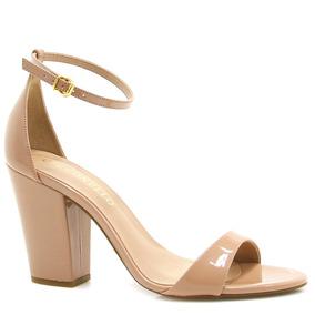 Sandália Salto Cecconello Verniz 979008 | Zariff