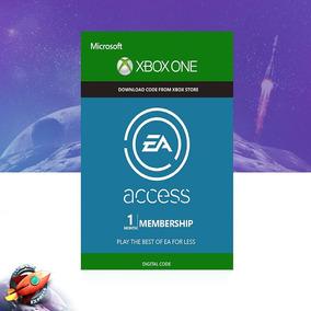 Ea Access Brasil Xbox One - Cartão Assinatura 1 Mes Br Us