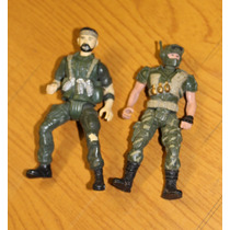 Juego De Figuras De 2 Soldados