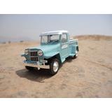 Jeep Willys Baqueano Coleccion Del Tiempo Esc: 1/43