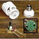 Bombillo Ahorrador Manual Reparacion Falla Componentes Placa