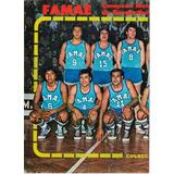 Famae Campeon Basketbol 1976, Poster Revista Estadio