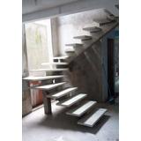 Escada Pré Fabricada Caracol U L Concreto À Partir De R$999