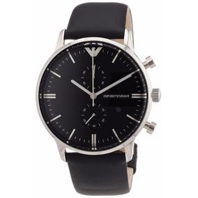 Relógio Emporio Armani Ar0397 Couro Original Garantia 12x