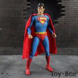 Figura Muñeco Neca Dc Superman Christopher Reeve 18cm