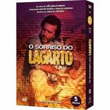 Box O Sorriso Do Lagarto - 5 Dvds - Original