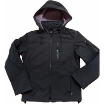 Campera Softshell Impermeable Rompeviento Neoprene