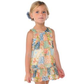 Vestido Mayoral Casual Y Elegante 4 6 Y 8 Años