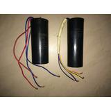 Capacitor Dual Para Lavadora 48+14mf / 33+14mf