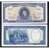 Ofertón # 123, 3 Billetes Chilenos Antiguos (1)