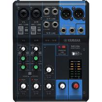 Mesa De Som Analógica 6 Canais Mg06 - Yamaha