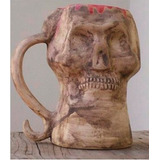 Halloween Terrorífico Chopp Calavera Ceramica