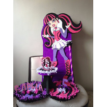 Piñata Y Chupeteros De Monster High