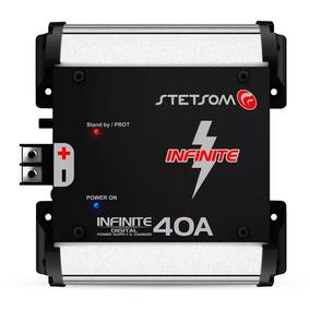 Fonte Automotiva 40a Bivolt Proteção P/ Tensão E Temperatura