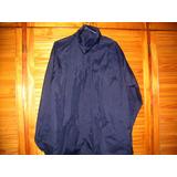 Rompevientos Campera De Trabajo Vestir Azul L Impermeable