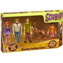 5 Bonecos Turma Scooby Doo Salsicha Velma Fred Articulados