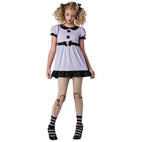 disfraz para nia traje muerta del zombi traje dolly muer