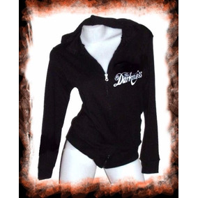 Campera The Darkness Logo Rock Dama Camperita Verano Oferta
