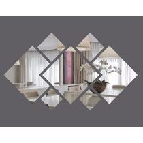 Espelho Decorativo Em Acrílico Espelhado Personalizável