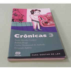 Crônicas 3 - Ática 20ª Edição