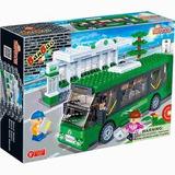 Bloco De Montar Banbao Transporte Estação De Ônibus 8768