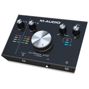 M-audio M-track 2x2 Interface Usb 24bit 192khz